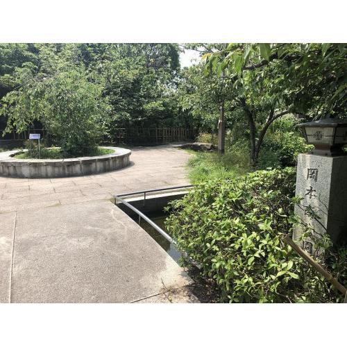 春は桜の名所となる岡本南公園まで徒歩2分、水が流れ都市部にいる事を忘れる様な潤いを感じます。
